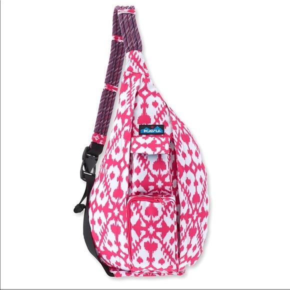 Kavu rope sling pink blot bag c04edf98a90b1